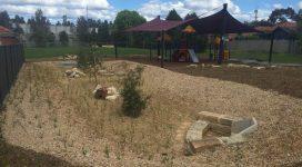 Forrester Reserve completed raingarden