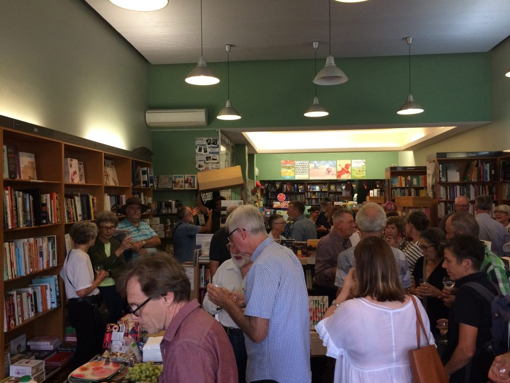 Books and people filled every corner of Gleebooks Dulwich Hill for the launch
