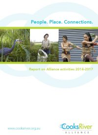 Cover of Cooks River Alliance 2014 2017 Activities Report